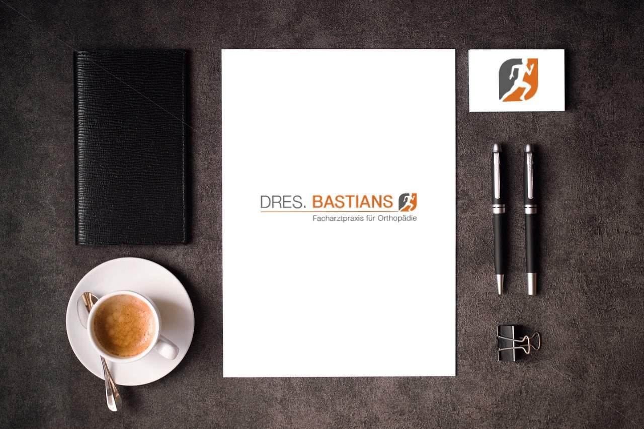 Gestaltung Logo Dres. Bastians - Grafiker, Website & SEO Spezialist aus Bochum
