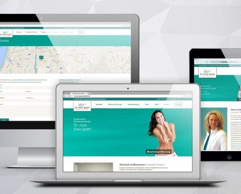Grafiker, Website & SEO Spezialist aus Bochum - Arbeitsprobe Dr. Silke Späth Website & SEO Vorschau