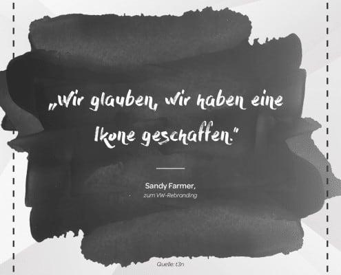 Grafiker, Website & SEO Spezialist aus Bochum - Marketingweisheit Nr. 2 - Sandy Farmer,