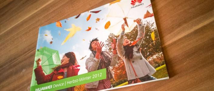 Arbeitsprobe - HUAWEI Produktbroschüre - Herbst-Winter 2012 - Grafiker Website SEO Spezialist - Ingo Schütte - 4