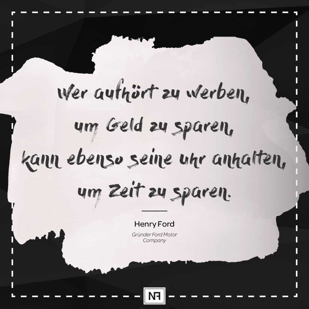 SEO Marketing Blog - Marketingweisheit Nr. 3 - Henry Ford - Ingo Schütte – Grafiker, Website & SEO Spezialist aus Bochum