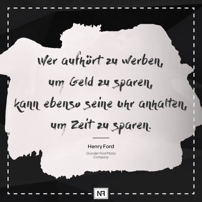 SEO Marketing Blog - Marketingweisheit Nr. 3 - Henry Ford - Ingo Schütte – Grafiker, Website & SEO Spezialist aus Bochum