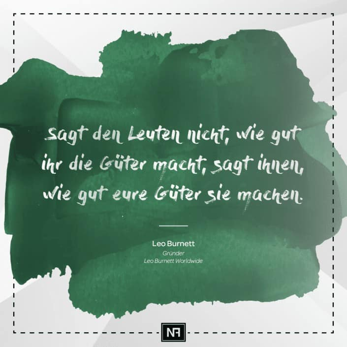 SEO Marketing Blog - Marketingweisheit Nr. 3 - Leo Burnett - Ingo Schütte – Grafiker, Website & SEO Spezialist aus Bochum