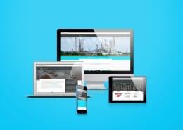 Arbeitsprobe - Website - ILIA Corporation - Grafiker Website SEO Spezialist - Ingo Schütte