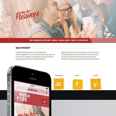 Arbeitsprobe - Website - pushfire - Grafiker Website SEO Spezialist - Ingo Schütte - Beitragsbild