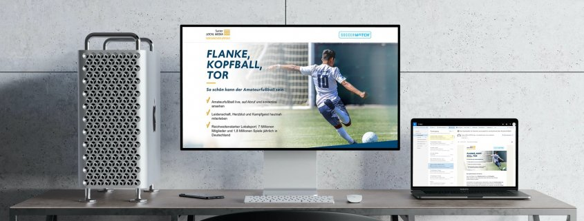 Mailing Kampagne - Sutter LOCAL MEDIA - soccerwatch-tv